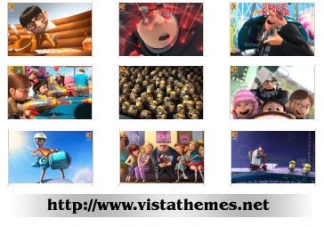Despicable Me for 1280x800 vista wallpapers pack