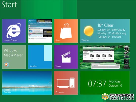 Windows 8 style Theme for Windows 7 UX Skin Pack
