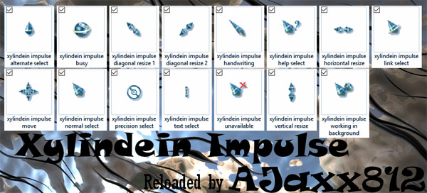 Xylindein Impulse computer mouse pointer download