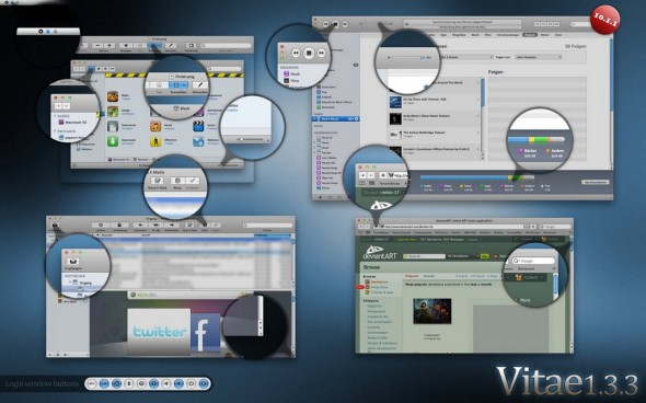 Vitae SL 1.3.3 for Mac OS X Themes