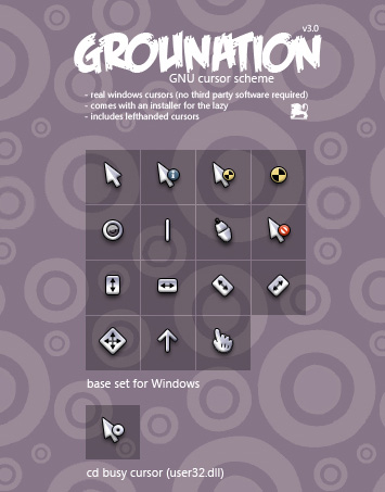 Grounation mouse pointers