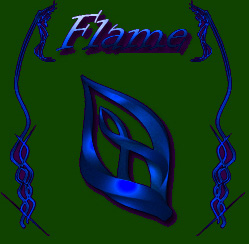Flame Blue cool mouse pointers