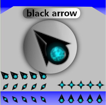Black Arrow for mouse pointers