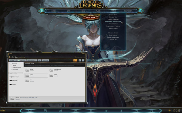 League Of Legends for windows 7 themes