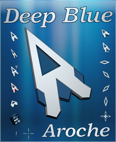 Deep Blue 3d mouse cursor