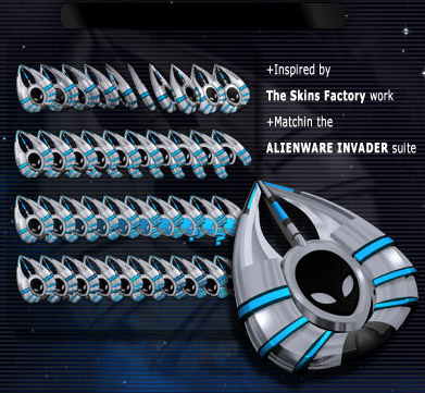 AlienwareInvader mouse pointers