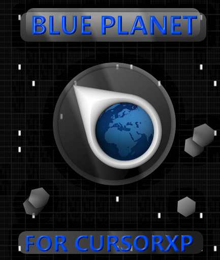 Blue Planet 3D mouse cursors