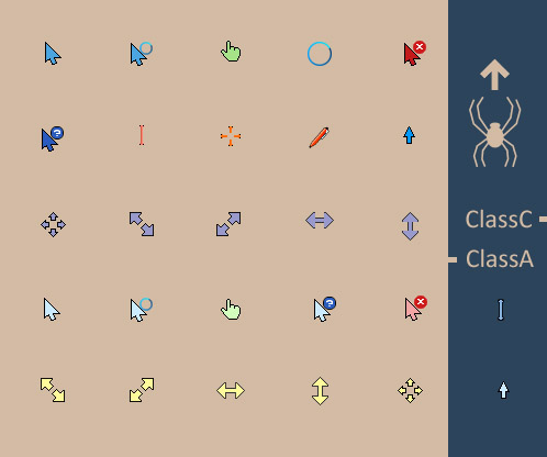 ClassAC for mouse cursors