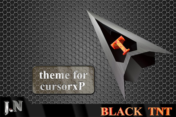 Black TNT mouse cursors