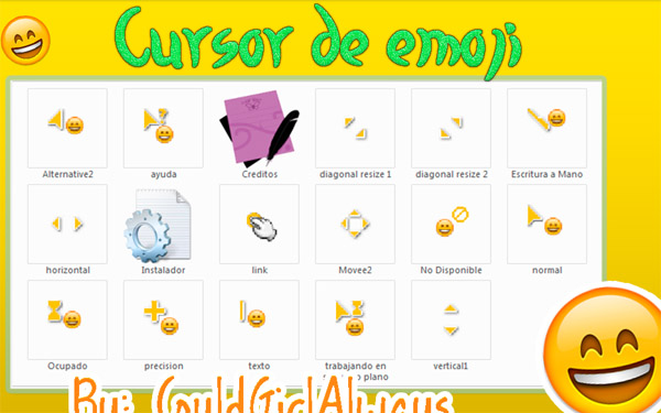 Cute Emoji FOR mouse cursors