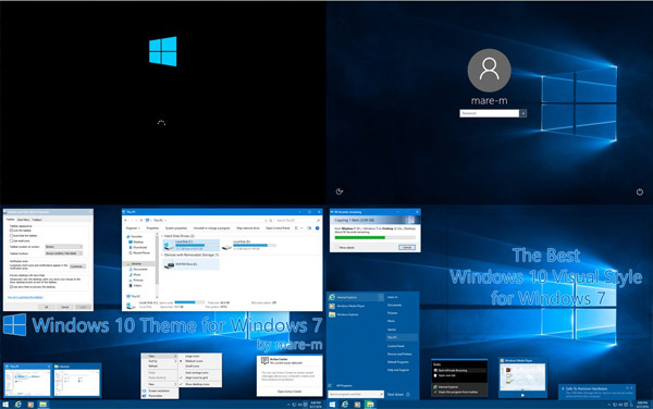 Windows 10 Theme for Windows 7 free download