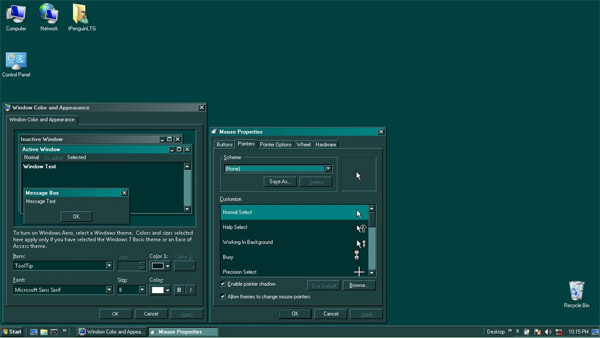 Teal for Shelbi - Dark for windows 7 themes