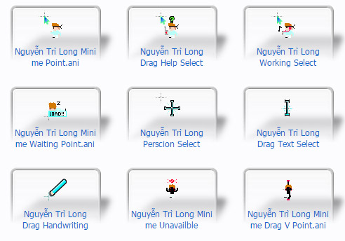 Light and Dark Nguyễn Trì Long Cursors
