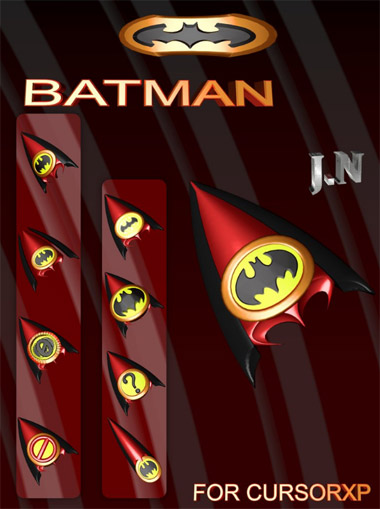 Batman cursors for computer download