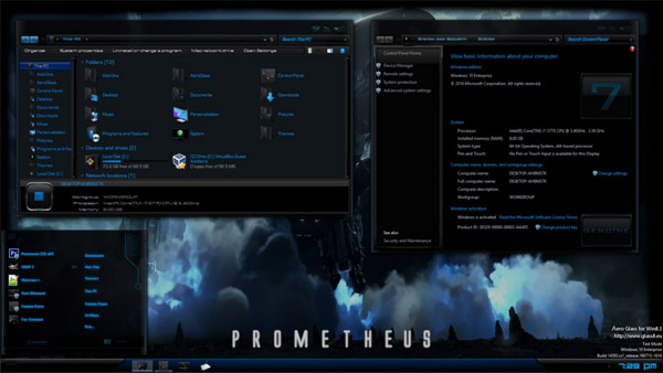 Prometheus REvisioned for Windows 10 AU AKA RS1