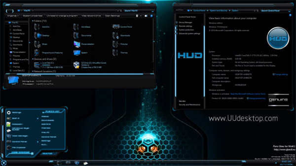 HUD for Windows 10 Anniversary Update