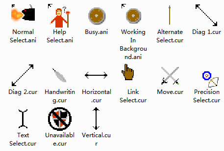 Medieval Theme Mouse Cursors