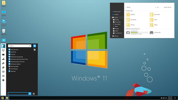 Windows 11 VS for windows 10 themes