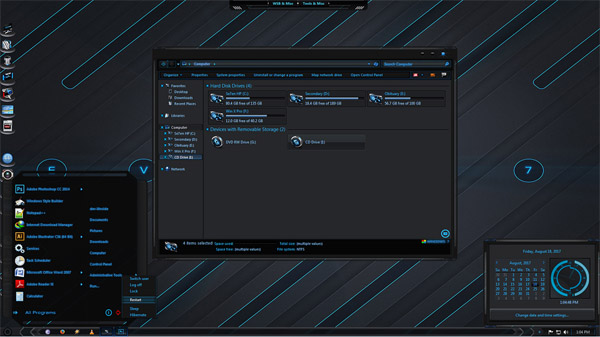 Evoke theme for windows 7 download