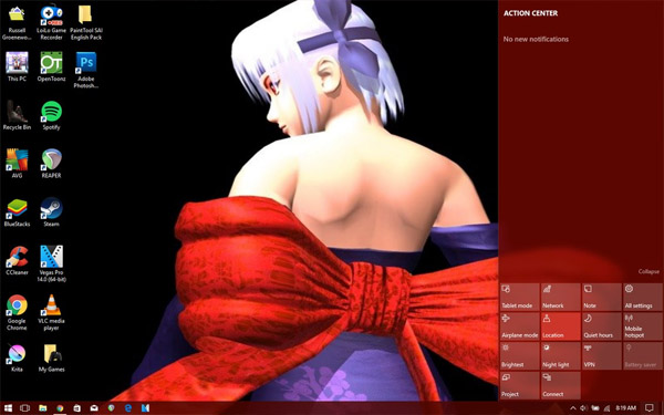 Windows 98 to 10 Theme - Dead Or Alive