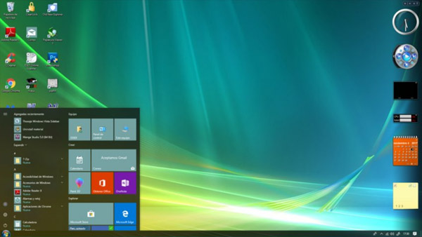 Windows Vista10 theme free download