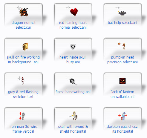 free Wicked Mouse Cursors