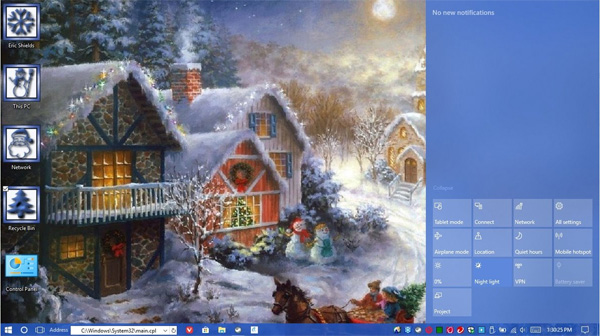 25 Days of DTPs - Joy Of Christmas desktop theme
