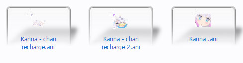 free Kanna for windows mouse cursors
