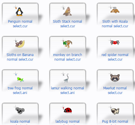 Gone Wild for Windows Mouse Cursors