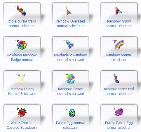 FREE Color Frenzy Cursors