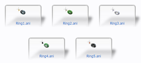 Rings are Ringing mouse pointers for windows 10 free download