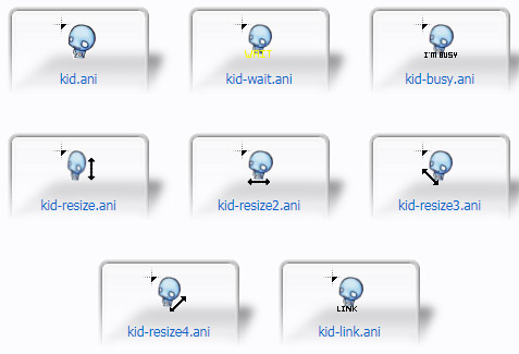 Kid Mouse Cursors