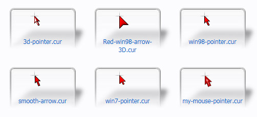 Red Mouse Cursors