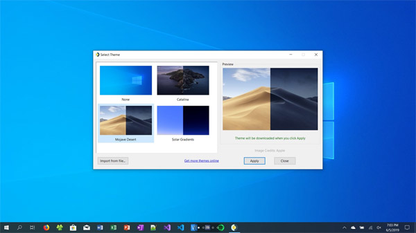 WinDynamicDesktop - Experience Dynamic Desktop on Windows 10