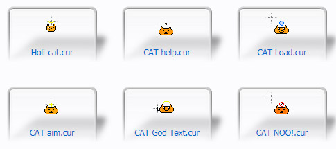 CAT FAMILY Cursors