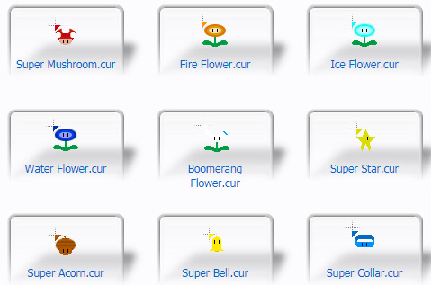 Power-ups Mouse Cursors