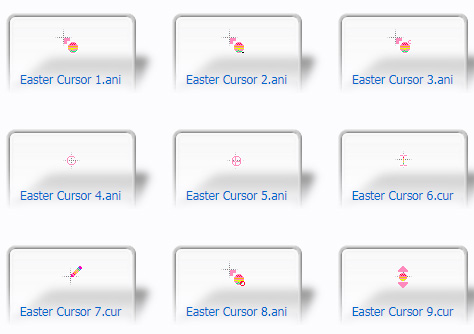 2021 Easter Cursors